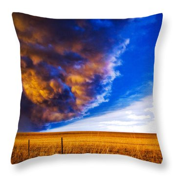 Front At Sunset 2 Of 2 Throw Pillow
