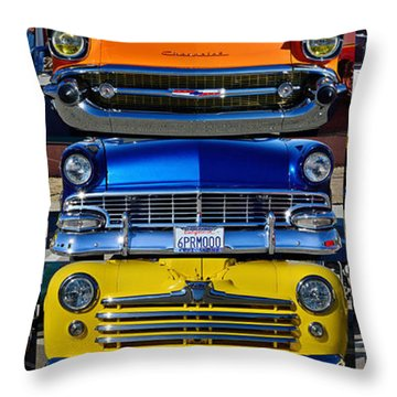Front Ends Throw Pillow