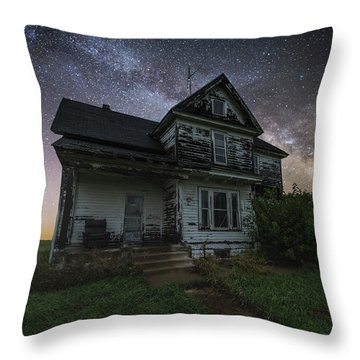 Throw Pillow featuring the photograph Front Porch  by Aaron J Groen