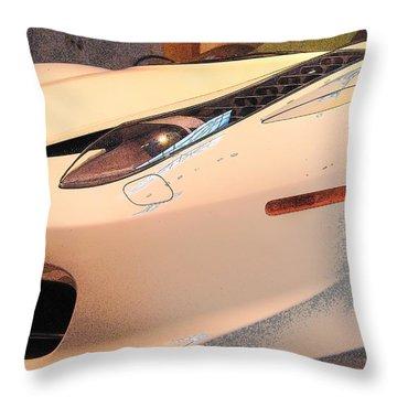 Front Quarter Throw Pillow by John Schneider