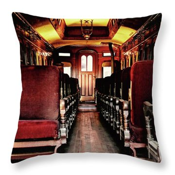 Front Row Seating Throw Pillow