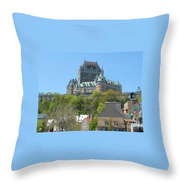 Frontenac Throw Pillow