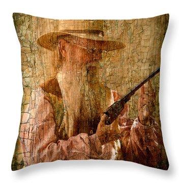 Frontiersman Throw Pillow