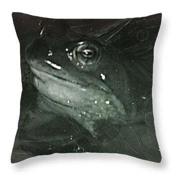 Froschel Throw Pillow