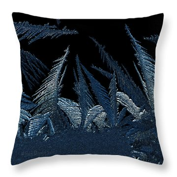 Frost Forest 2015 Throw Pillow