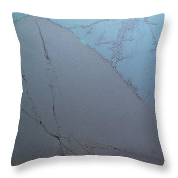 Frostwork - The Hill Throw Pillow