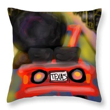 Froward Throw Pillow