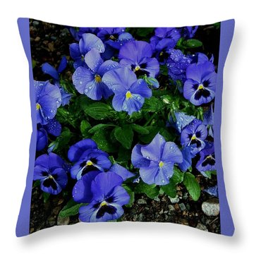 Frowners Throw Pillow