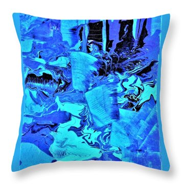Frozen Beauty Throw Pillow