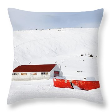 Frozen Life Throw Pillow