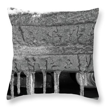 Frozen Road Warrior Throw Pillow