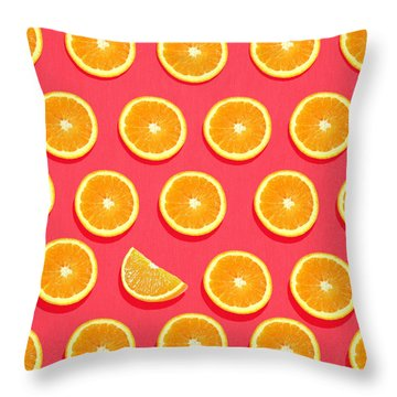 Fruit 2 Throw Pillow by Mark Ashkenazi