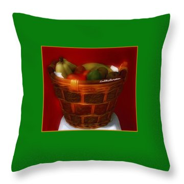 Fruit  Art 5 Throw Pillow