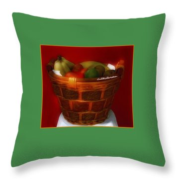 Fruit  Art 4 Throw Pillow