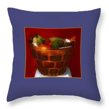 Fruit  Art 3 Throw Pillow