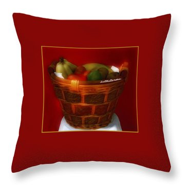 Fruit  Art 6 Throw Pillow