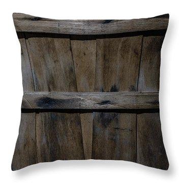 Fruit Basket Detail Throw Pillow by Chris Bordeleau