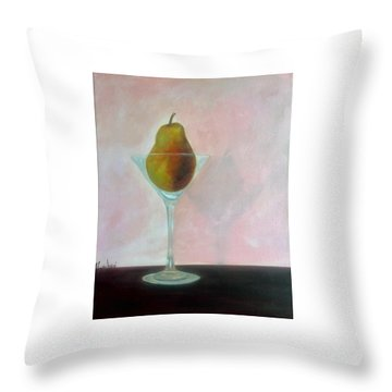 Fruit Cocktail Throw Pillow