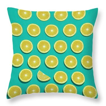 Fruit  Throw Pillow by Mark Ashkenazi