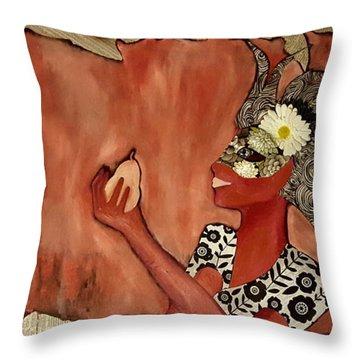 Fruit Of Simplicity Throw Pillow
