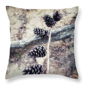 Fruit Of The Pine Throw Pillow