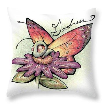 Fruit Of The Spirit Goodness Throw Pillow