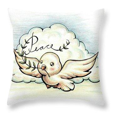 Fruit Of The Spirit Peace Throw Pillow