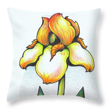 Fruit Of The Spirit Series 2 Peace Throw Pillow