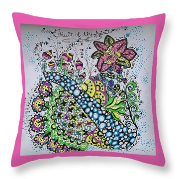 Fruit Of The Spirit Throw Pillow
