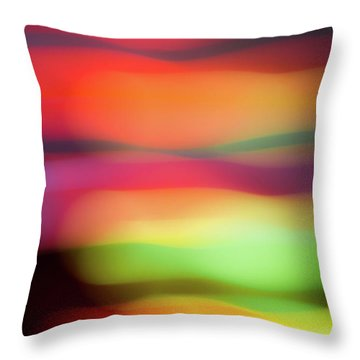 Fruit Salad Throw Pillow