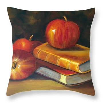 Fruitful Afternoon Throw Pillow by Susan Dehlinger