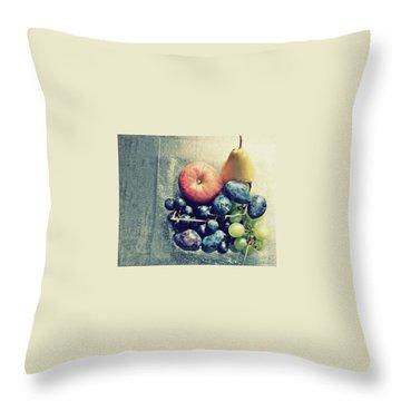 Fruitful Autumn Throw Pillow