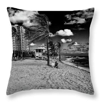 Ft Lauderdale  Throw Pillow