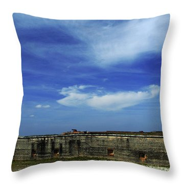 Ft. Pickens Sky 2 Throw Pillow