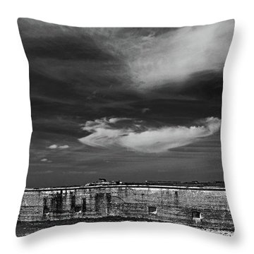 Ft. Pickens Sky Throw Pillow