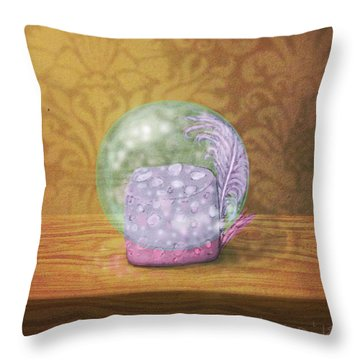 Ftf In A Bubble Throw Pillow