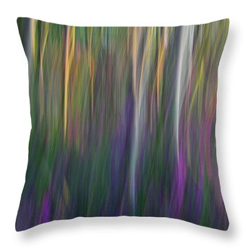 Fuchsia At Dawn Throw Pillow