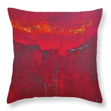 Fuego Throw Pillow by Filomena Booth
