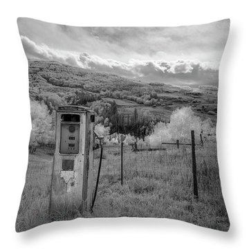 Fuel The Valley Throw Pillow
