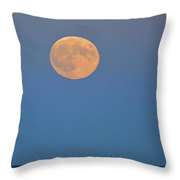 Full Blood Moon Throw Pillow