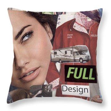 Full Design Myth Throw Pillow by Chaperone Picks