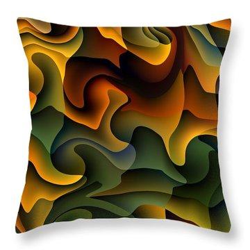 Full Frills Throw Pillow
