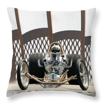 Full Frontal Slingshot Throw Pillow