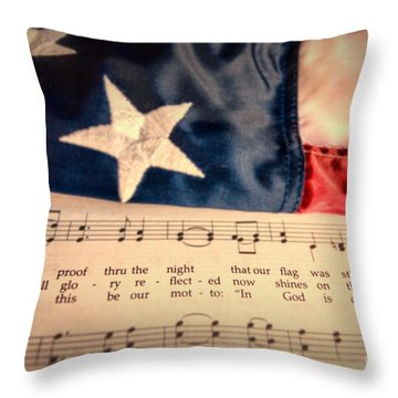 Full Glory Reflected Throw Pillow