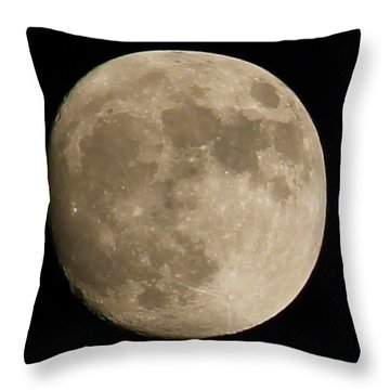 Full Moon 2016 Throw Pillow