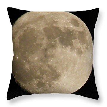 Full Moon 2016 Throw Pillow