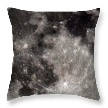 Full Moon 7-31-15 Throw Pillow