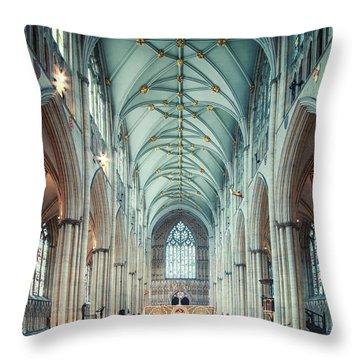 Full Of Faith Throw Pillow