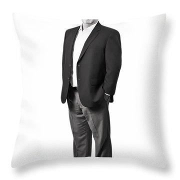 Full Portrait Throw Pillow