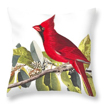 Throw Pillow featuring the photograph Full Red by Munir Alawi